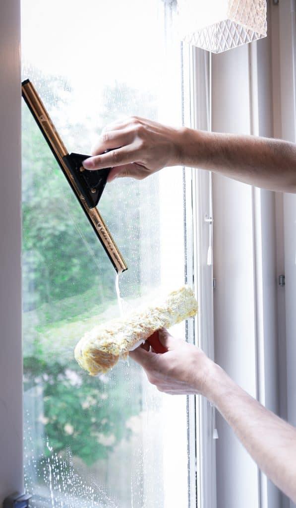 en fönsterputs på sundbyberg